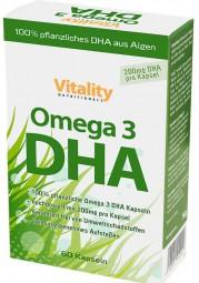 Omega-3 mit DHA aus Algen, 60 Kapseln, vegan