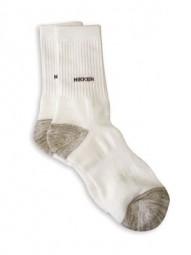 Socken, weiß-grau, Ferninfrarot-Technologie