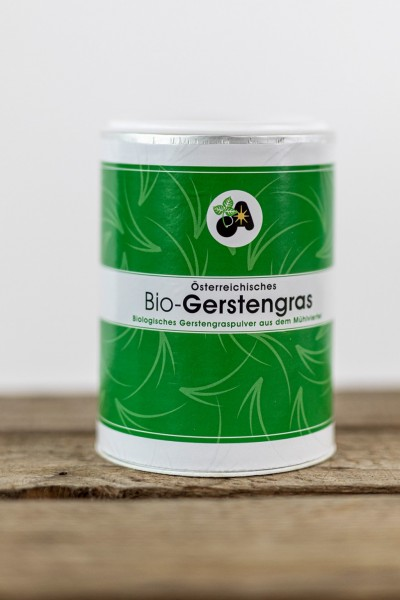 Gerstengras Pulver 125g