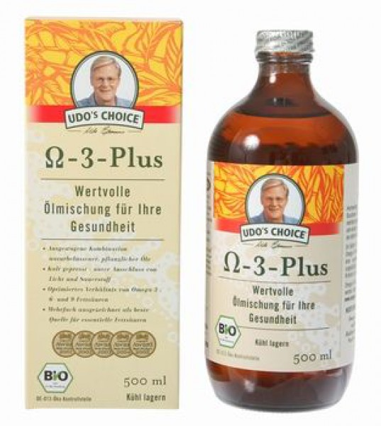 500ml Omega 3-6-9 Ölmischung Dr. Erasmus